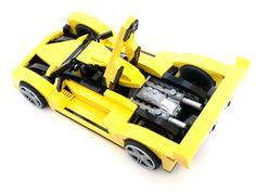 Lamborghini LMP2 Hound (8169 Alternate) | by BrickMonkey