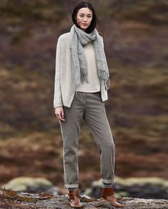 Poetry Fashion - Soft cord trousers