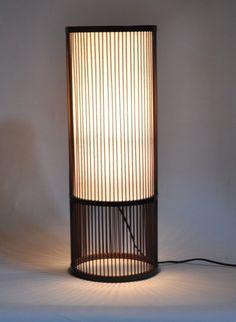 Lamp Design, Lighting Design, Japanese Lighting, Table Lanterns, Table Cafe, Lampshade Designs, Handmade Lamps, Room Lamp, Wooden Lamp