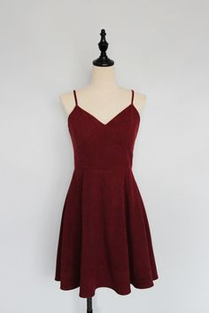 Simple Cute Wine Red Straps Homecoming Dresses, Velvet Party Dresses, Short Formal Dresses