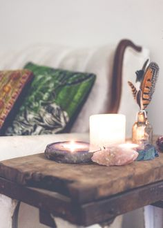 SoulMakes Blog - Crystal Candles