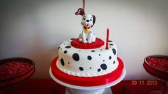 Mili's 101 Dalmations party | CatchMyParty.com