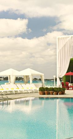 #Jetsetter Daily Moment of Zen: Mondrian South Beach in Miami Beach, #Florida