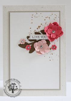 Love for Stamping - Secret Garden Framelits, Floral Fusion Sizzlits, Gorgeous Grunge - Guest Designer Crazy for Cas 34