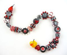 Lampwork beads by Corina Tettinger