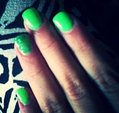 Green is the colour of summer...