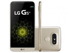 "Smartphone LG G5 SE 32GB Dourado 4G Câm. - 16MP + Selfie 8MP Flash Tela 5.3"" QHD Octa Core https://www.magazinevoce.com.br/magazinebrotherjp"