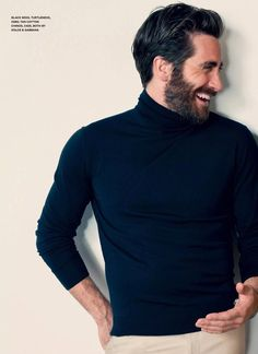 """He looks like a beatnik 1960s art teacher at a small midwestern all-women's liberal arts college (""""Have you had Professor Gyllenhaal for Art Intro?' asks Mary-Lou. """"He's the dreamiest!"""" """""""