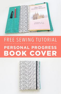 Welcome! Today we are going to share with you how Kate made this sweet little cover for her Young Women's Personal Progress book! It was perfect timing that my fabric line Heart and Soul came out the same week that Kate turned 12 and entered into the LDS Young Women's program. If you want to…