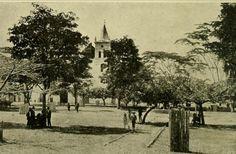 Plaza de Bolivar de Ibagué en 1918