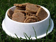 Dog Hill Kitchen: Nutty Bacon Dog Treats