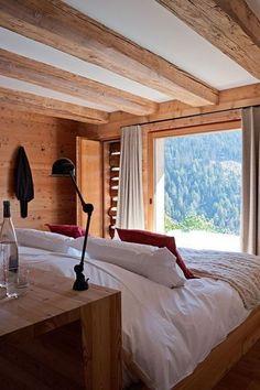 Deco intérieur chalet moderne | Chalet design, Salons and Interiors