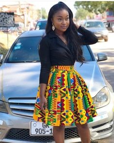 How to Rock African Print Styles to Lectures with Swag – Africavarsities Short African Dresses, African Inspired Fashion, Latest African Fashion Dresses, African Print Fashion, Africa Fashion, Ankara Fashion, Ghanaian Fashion, Short Dresses, Nigerian Fashion