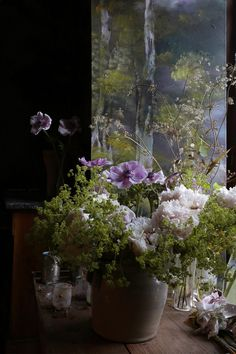 Claire Basler e il castello di Beauvoir - by Delia - Furighedda gardening Art Floral, Deco Floral, Claire Basler, Foto 3d, Art Studio Design, Holiday Pictures, Container Flowers, Little Flowers, French Artists