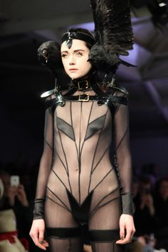 pam hogg #catwalk #fashion