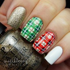 christmas by majikbeenz #nail #nails #nailart