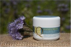 Hand Cream - Soar Mill Seeds  This hand cream helps to create the smoothest and softest hands. An easily absorbed hand cream which is light and non greasy.  Rich in shea butter to prevent dryness with wheat germ and honey to nourish and moisturise. It also contains beeswax and allantoin.   Not Tested on animals, Lanolin Free.   100g plastic pot with screw top lid.   Made and packaged in England