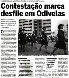 """26.Jan.2014 Desfile anual das  Meninas de Odivelas pela sua cidade, Uma vez mais uma contestação pacifica ao """"ao nível das Meninas de Odivelas""""."""