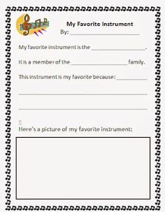 Ideas for teaching the instruments of the orchestra-sub plans