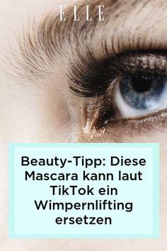 Beauty-Tipp: Laut TikTok gibt es eine Mascara, die tatsächlich ein Wimpernlifting ersetzen soll. Welche es ist, zeigen wir im Elle-Video!