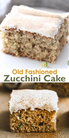 Zucchini Desserts, Zucchini Bread Recipes, Easy Desserts, Delicious Desserts, Yummy Food, Shredded Zucchini Recipes, Zucchini Cupcakes, Irish Desserts, Baking Recipes