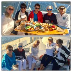 This is one sail to remember! When the Vintage Zetas set sail aboard Moonraker for a Sunset Sail and Dolphin Watch it gave a whole new meaning to the Indian River Lagoon, Vero Beach Florida, Sailing Catamaran, Zeta Tau Alpha, October