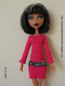 handmade Monster High clothes/ropa/kleidung/vêtements v113 (NOT DOLL)