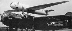 The DFS 228 V1, atop its Dornier Do 217K V-3 carrier aircraft