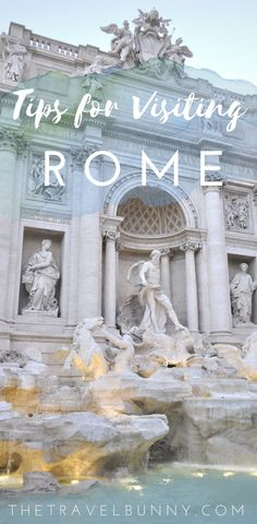 Travel tips for visiting Rome. How to save money on sightseeing, getting around, where re to eat, stay and make the most of your time in Rome. | Rome travel guide | travel | travel tips | Vatican | sightseeing | weekend in Rome | visit |  tips for Rome | weekend break