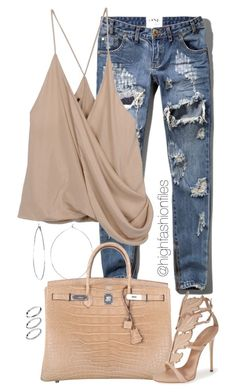 """""""Untitled #1829"""" by highfashionfiles ❤ liked on Polyvore"""