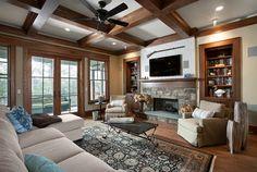 Dunes West Interiors Architecture - Mount Pleasant, SC - rustic - living room - charleston - Ink Architecture LLC