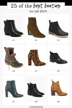 The best fall boots for 2019 - a roundup of on trend bootie styles in all price ranges. Fall Booties, Ankle Booties, Bootie Boots, Tall Pants, Comfortable Boots, All About Shoes, Motorcycle Boots, Tall Women, Colorful Fashion