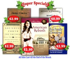Christmas Blowout Sale! http://www.goodstewardbooks.com/c/index.php?main_page=index&cPath=7_213