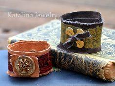 Katalina Jewelry: Vintage Book Cuff