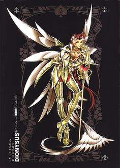 Future Studio, Saint Seiya, Sacred Saga Art Collection Green, Dyonisos