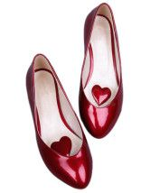 Patent PU Leather Pointed Toe Women's Ballet Flats  $27.99