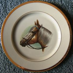 Check out Horse Brown Gray Fine China Viletta Collector Plate Gold Leaf USA Vintage 1960s  http://www.ebay.com/itm/Horse-Brown-Gray-Fine-China-Viletta-Collector-Plate-Gold-Leaf-USA-Vintage-1960s-/161755701066?roken=cUgayN&soutkn=R0ZW6e via @eBay