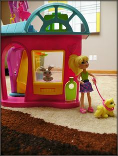 Polly Pocket & Puppy - Polly Pocket Playtime Pet Shop