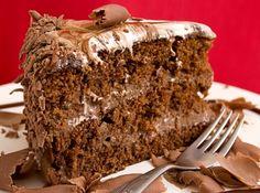 Receita de Bolo Mesclado - bolo do forno e corte-o em fatias de 2 centímetros de largura. Depois corte de cada fatia, três tiras no sentido do comprimento. Divida as...