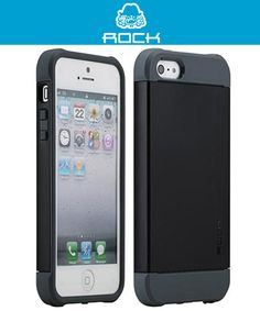 Rock Shield Cover iPhone 5 5S Zwart