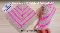 Super easy women booties knitting basics: Super easy two skewers women booties Knitting Designs, Knitting Patterns Free, Free Knitting, Knitting Projects, Baby Knitting, Crochet Patterns, Knitting For Kids, Knitting Socks, Loom Knitting