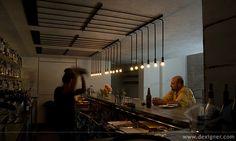.PSLAB Designs Minimalist Lighting Solution for Workshop Kitchen + Bar - Dexigner