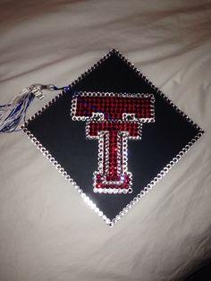 Grad cap Texas tech ❤️