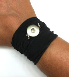 """The Snap Exchange silk wrap bracelet. Handmade for you to """"design the life you love""""!"""