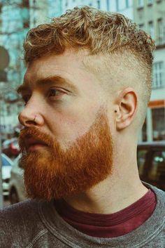 Cortes de cabelo masculino para ousar!   Moda Para Homens Short Hair With Beard, Mens Hairstyles With Beard, Cool Hairstyles For Men, Cool Haircuts, Haircuts For Men, Popular Haircuts, Faded Beard Styles, Beard Styles For Men, Fade Haircut Styles