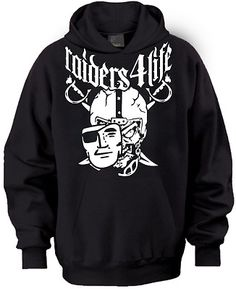 Oakland Raider Nation Los Angeles 4 Life Hoodie Any Size s M L XL 2X 3X | eBay