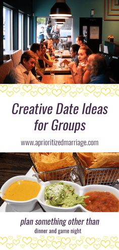 Creative Ideas for Date Night with Other Couples — A Prioritized Marriage Marriage Games, Marriage Couple, Good Marriage, Marriage Tips, Date Night Games, Game Night, Group Dates, Marriage Retreats, Pam Pam