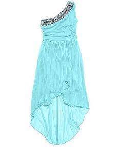Ruby Rox Girls' One-Shoulder Dress - Kids Girls Dresses - Macy's