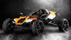 KTM X-Over: Austrian designer draws up off-road buggy for KTM.