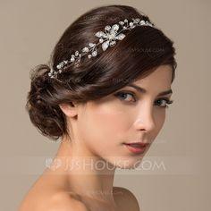 Headbands Wedding Special Occasion Alloy Pearl 11.8